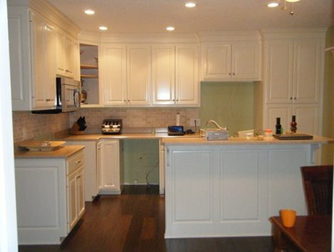 Kitchen Fire After - Swartz Contracting
