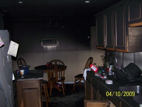 Kitchen Fire Swartz Contracting