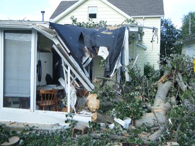Wind Storm Swartz Contracting
