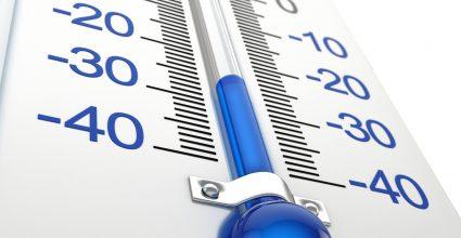 cold temperature thermometer
