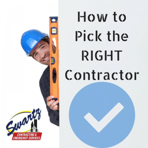 picking the right contractor