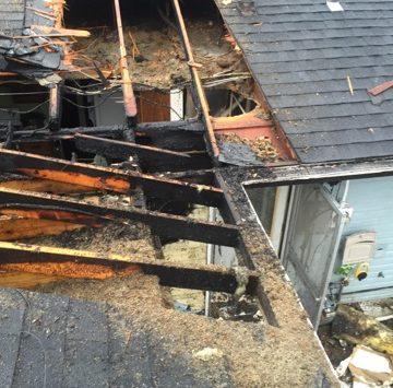 emergency roof tarp before
