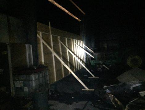 emergency fire damage stabilization