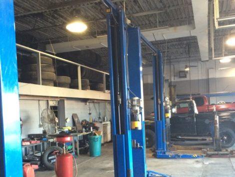 commercial remodel garage before