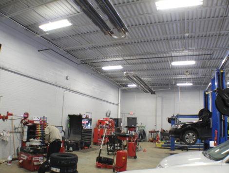 commercial remodel garage after