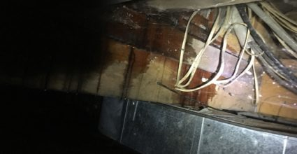 flooded crawl space water damage