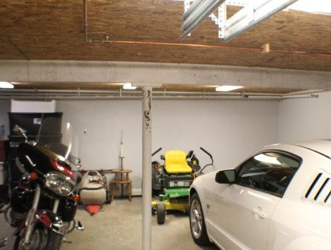 fire damage restoration garage after