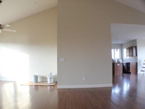fire damage restoration complete rebuild living room after
