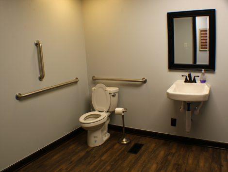 commercial remodel bathroom after