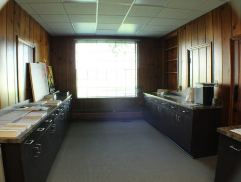 commercial remodel copy room after