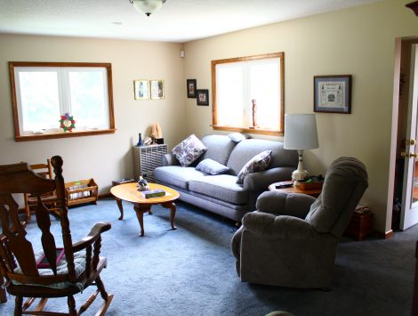 swartz contracting and emergency services rear family room after