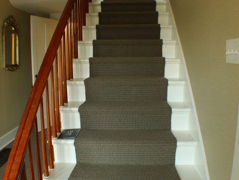 commercial remodel stairs after