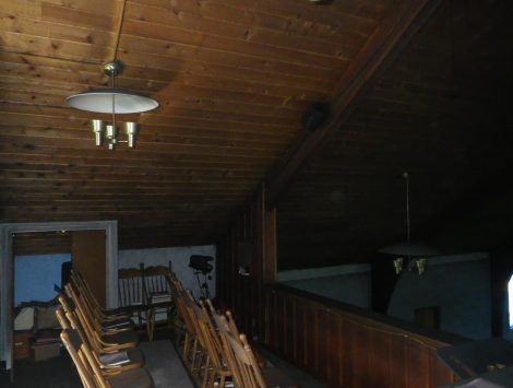swartz contracting and emergency services fire damage before choir loft 1
