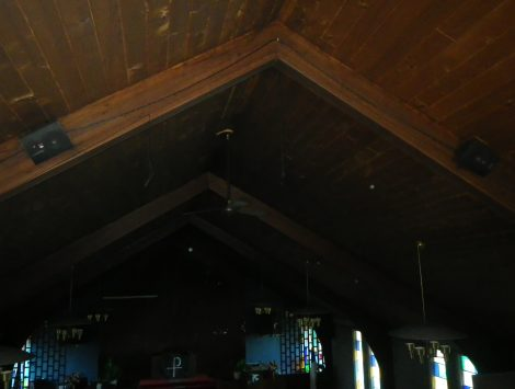 swartz contracting and emergency services fire damage before choir loft 6