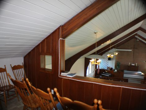 swartz contracting and emergency services fire damage Choir Loft After (5)