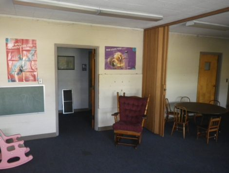 swartz contracting and emergency services fire damage before classroom a 5