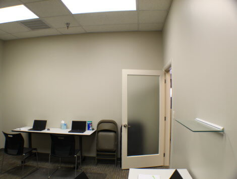 commercial office remodel after
