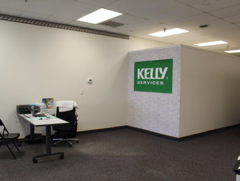 commercial office remodel before