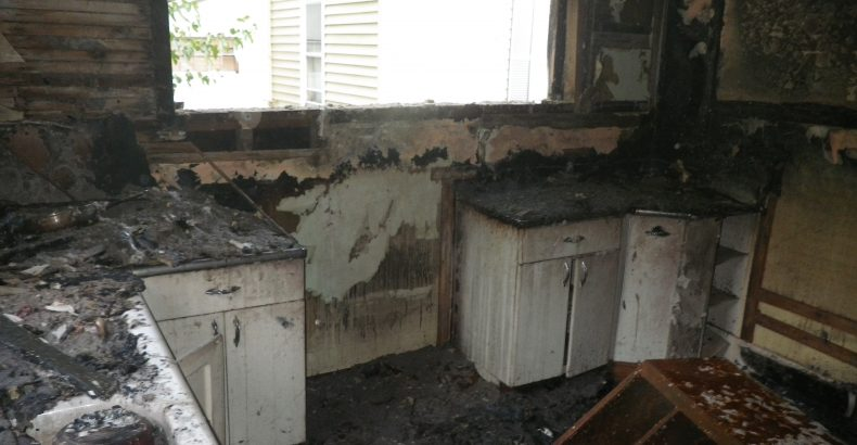 Apartment Fire Before